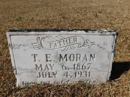 MORAN, T E - Calhoun County, Arkansas | T E MORAN - Arkansas Gravestone Photos