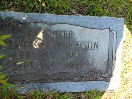 MORRISON, CLEMMIE J - Calhoun County, Arkansas   CLEMMIE J MORRISON - Arkansas Gravestone Photos