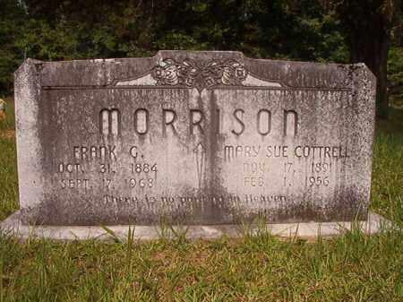 MORRISON, FRANK G - Calhoun County, Arkansas | FRANK G MORRISON - Arkansas Gravestone Photos