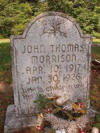 MORRISON, JOHN THOMAS - Calhoun County, Arkansas | JOHN THOMAS MORRISON - Arkansas Gravestone Photos