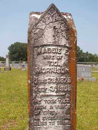 MORRISON, MAGGIE E - Calhoun County, Arkansas | MAGGIE E MORRISON - Arkansas Gravestone Photos