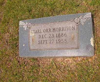ORR MORRISON, PEARL - Calhoun County, Arkansas | PEARL ORR MORRISON - Arkansas Gravestone Photos