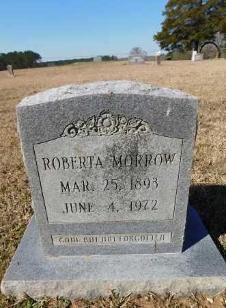 MORROW, ROBERTA - Calhoun County, Arkansas | ROBERTA MORROW - Arkansas Gravestone Photos