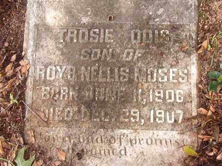 MOSES, TROSIE ODIS - Calhoun County, Arkansas | TROSIE ODIS MOSES - Arkansas Gravestone Photos