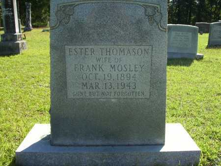 THOMASON MOSLEY, ESTER - Calhoun County, Arkansas | ESTER THOMASON MOSLEY - Arkansas Gravestone Photos