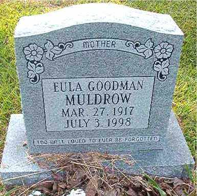 MULDROW, EULA - Calhoun County, Arkansas | EULA MULDROW - Arkansas Gravestone Photos