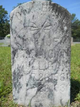 MULLIGAN, INFANT - Calhoun County, Arkansas | INFANT MULLIGAN - Arkansas Gravestone Photos
