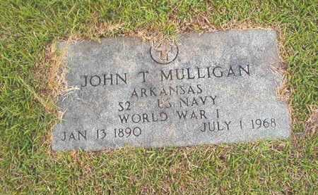 MULLIGAN (VETERAN WWI), JOHN T - Calhoun County, Arkansas | JOHN T MULLIGAN (VETERAN WWI) - Arkansas Gravestone Photos