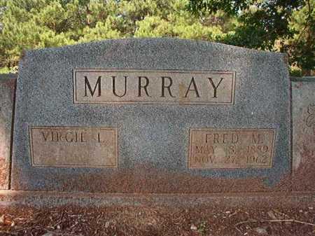 MURRAY, FRED M - Calhoun County, Arkansas   FRED M MURRAY - Arkansas Gravestone Photos
