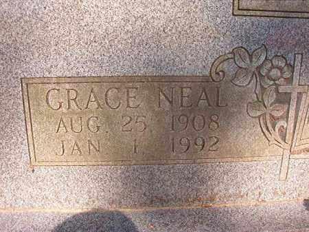 NEAL, GRACE - Calhoun County, Arkansas | GRACE NEAL - Arkansas Gravestone Photos