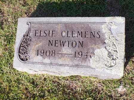 NEWTON, ELSIE - Calhoun County, Arkansas | ELSIE NEWTON - Arkansas Gravestone Photos