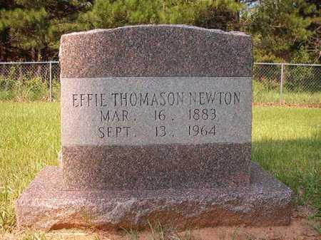 THOMASON NEWTON, EFFIE - Calhoun County, Arkansas | EFFIE THOMASON NEWTON - Arkansas Gravestone Photos