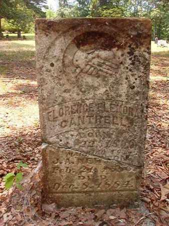 CANTRELL NEWTON, FLORENCE ELNORA - Calhoun County, Arkansas | FLORENCE ELNORA CANTRELL NEWTON - Arkansas Gravestone Photos