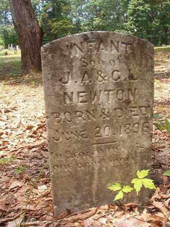 NEWTON, INFANT SON - Calhoun County, Arkansas | INFANT SON NEWTON - Arkansas Gravestone Photos