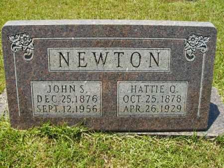 NEWTON, JOHN S - Calhoun County, Arkansas | JOHN S NEWTON - Arkansas Gravestone Photos