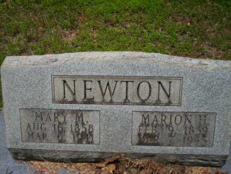NEWTON, MARY M - Calhoun County, Arkansas | MARY M NEWTON - Arkansas Gravestone Photos