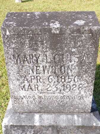 NEWTON, MARY LOUISA - Calhoun County, Arkansas | MARY LOUISA NEWTON - Arkansas Gravestone Photos