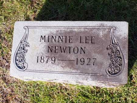 NEWTON, MINNIE LEE - Calhoun County, Arkansas | MINNIE LEE NEWTON - Arkansas Gravestone Photos
