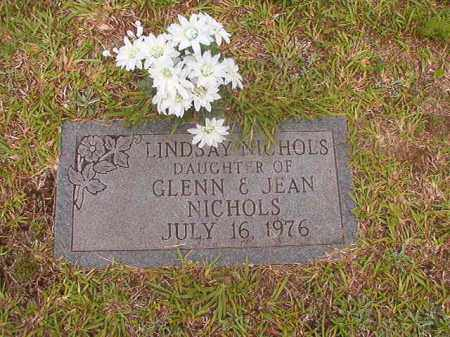 NICHOLS, LINDSAY - Calhoun County, Arkansas | LINDSAY NICHOLS - Arkansas Gravestone Photos