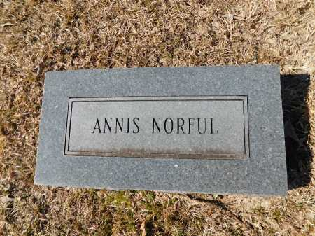 NORFUL, ANNIS - Calhoun County, Arkansas | ANNIS NORFUL - Arkansas Gravestone Photos