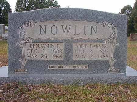 NOWLIN, ABBIE - Calhoun County, Arkansas | ABBIE NOWLIN - Arkansas Gravestone Photos