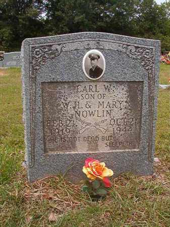 NOWLIN, CARL W - Calhoun County, Arkansas | CARL W NOWLIN - Arkansas Gravestone Photos