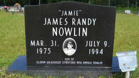 "NOWLIN, JAMES RANDY ""JAMIE"" - Calhoun County, Arkansas 