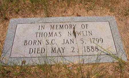 NOWLIN, THOMAS - Calhoun County, Arkansas | THOMAS NOWLIN - Arkansas Gravestone Photos