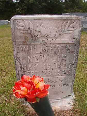NOWLIN, WILMER L - Calhoun County, Arkansas | WILMER L NOWLIN - Arkansas Gravestone Photos