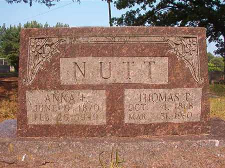 NUTT, THOMAS P - Calhoun County, Arkansas | THOMAS P NUTT - Arkansas Gravestone Photos