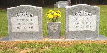 NUTT, MOLLIE LOU - Calhoun County, Arkansas | MOLLIE LOU NUTT - Arkansas Gravestone Photos