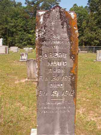 NUTT, ROBERT G - Calhoun County, Arkansas | ROBERT G NUTT - Arkansas Gravestone Photos