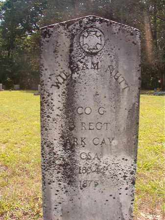 NUTT (VETERAN CSA), WILLIAM - Calhoun County, Arkansas | WILLIAM NUTT (VETERAN CSA) - Arkansas Gravestone Photos