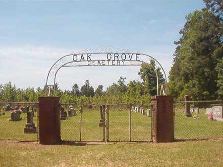 *OAK GROVE, CEMETERY - Calhoun County, Arkansas | CEMETERY *OAK GROVE - Arkansas Gravestone Photos