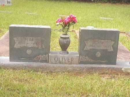 OLIVER, JENNIE - Calhoun County, Arkansas | JENNIE OLIVER - Arkansas Gravestone Photos