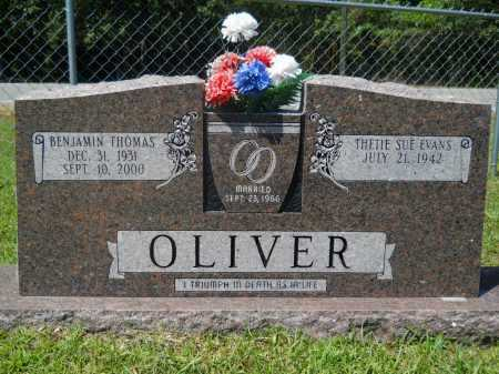 OLIVER, BENJAMIN THOMAS - Calhoun County, Arkansas | BENJAMIN THOMAS OLIVER - Arkansas Gravestone Photos