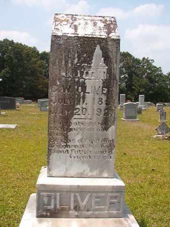OLIVER, G W - Calhoun County, Arkansas | G W OLIVER - Arkansas Gravestone Photos