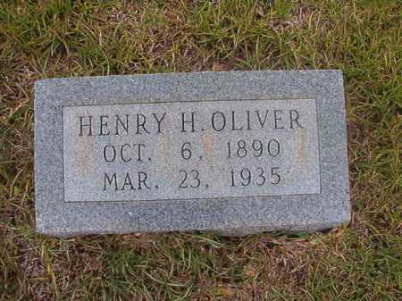 OLIVER, HENRY H - Calhoun County, Arkansas | HENRY H OLIVER - Arkansas Gravestone Photos