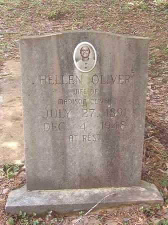 OLIVER, HELLEN - Calhoun County, Arkansas | HELLEN OLIVER - Arkansas Gravestone Photos