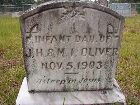 OLIVER, INFANT DAUGHTER - Calhoun County, Arkansas | INFANT DAUGHTER OLIVER - Arkansas Gravestone Photos