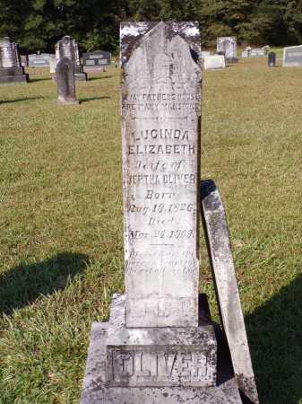 OLIVER, LUCINDA ELIZABETH - Calhoun County, Arkansas | LUCINDA ELIZABETH OLIVER - Arkansas Gravestone Photos