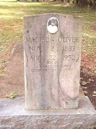 OLIVER, MADISON - Calhoun County, Arkansas | MADISON OLIVER - Arkansas Gravestone Photos
