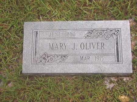 OLIVER, MARY J - Calhoun County, Arkansas | MARY J OLIVER - Arkansas Gravestone Photos