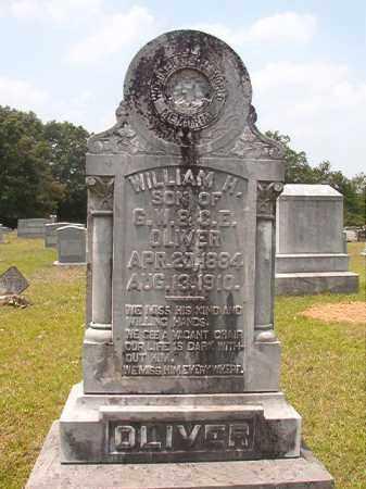 OLIVER, WILLIAM H - Calhoun County, Arkansas | WILLIAM H OLIVER - Arkansas Gravestone Photos