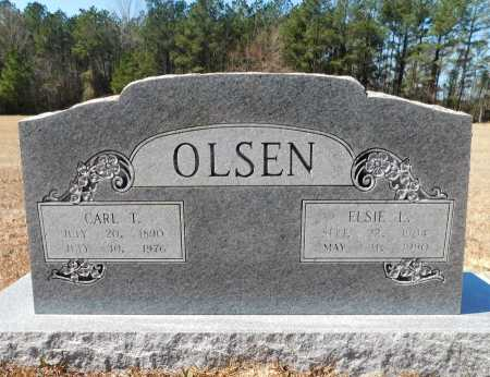 OLSEN, CARL T - Calhoun County, Arkansas | CARL T OLSEN - Arkansas Gravestone Photos