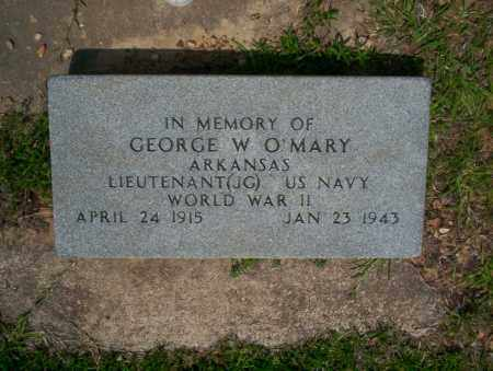 O'MARY  (VETERAN WWII), GEORGE W - Calhoun County, Arkansas | GEORGE W O'MARY  (VETERAN WWII) - Arkansas Gravestone Photos