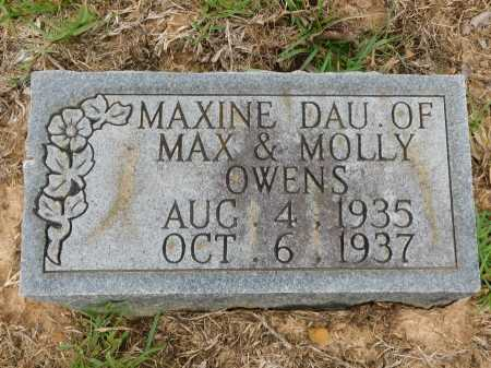 OWENS, MAXINE - Calhoun County, Arkansas | MAXINE OWENS - Arkansas Gravestone Photos