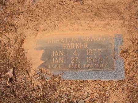 PARKER, BRAXTON BRAGG - Calhoun County, Arkansas | BRAXTON BRAGG PARKER - Arkansas Gravestone Photos