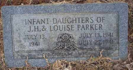 PARKER, INFANT TWIN DAUGHTER - Calhoun County, Arkansas | INFANT TWIN DAUGHTER PARKER - Arkansas Gravestone Photos