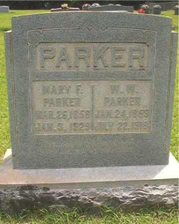 PARKER, MARY FRANCIS - Calhoun County, Arkansas | MARY FRANCIS PARKER - Arkansas Gravestone Photos